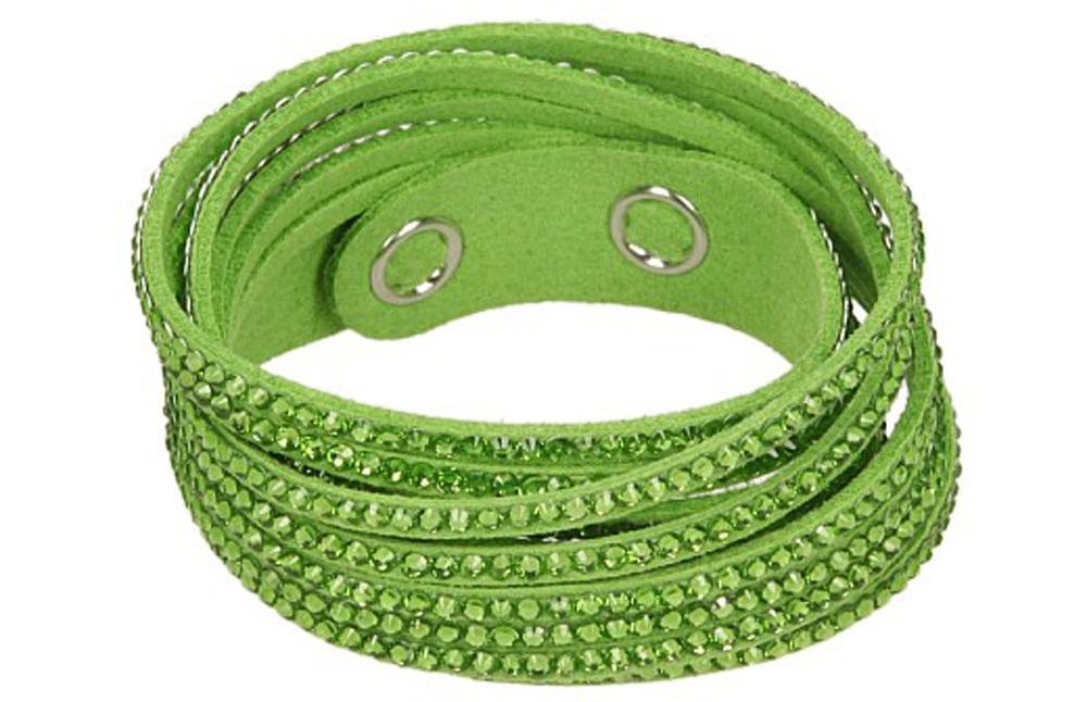 Damskie BRANSOLETA CEKINY zielony;;