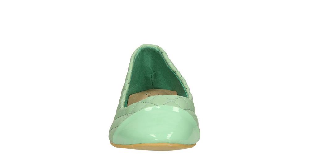 Damskie BALERINY CASU JA-213 zielony;;