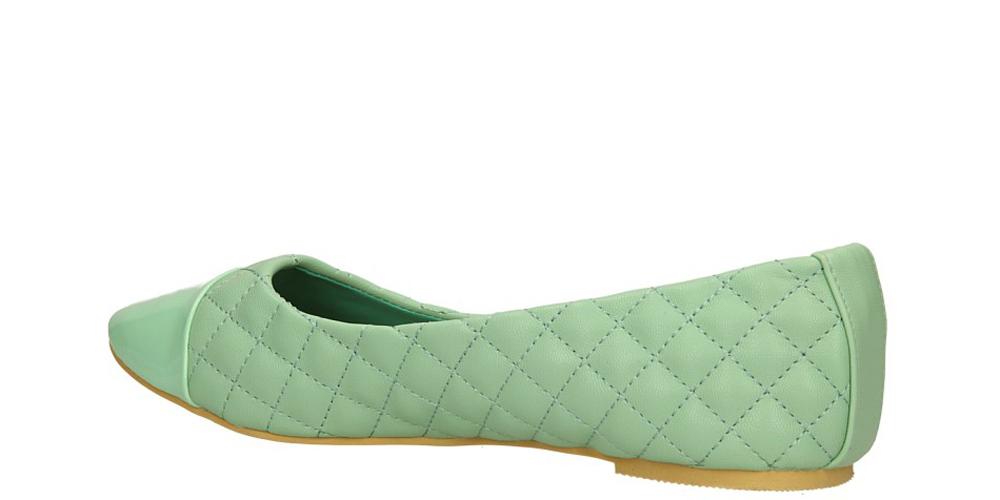 BALERINY CASU JA-213 kolor zielony