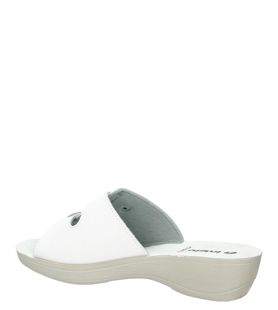 Klapki Inblu PL000031 kolor biały
