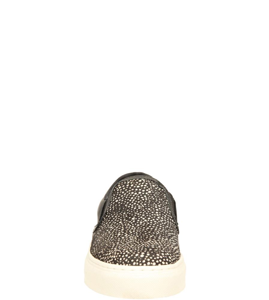 Damskie CREEPERSY BRONX 65050-B0 czarny;biały;