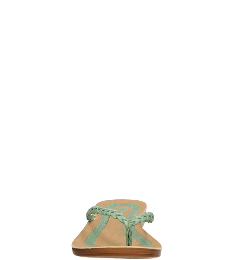 Damskie JAPONKI INBLU IR000027 zielony;;