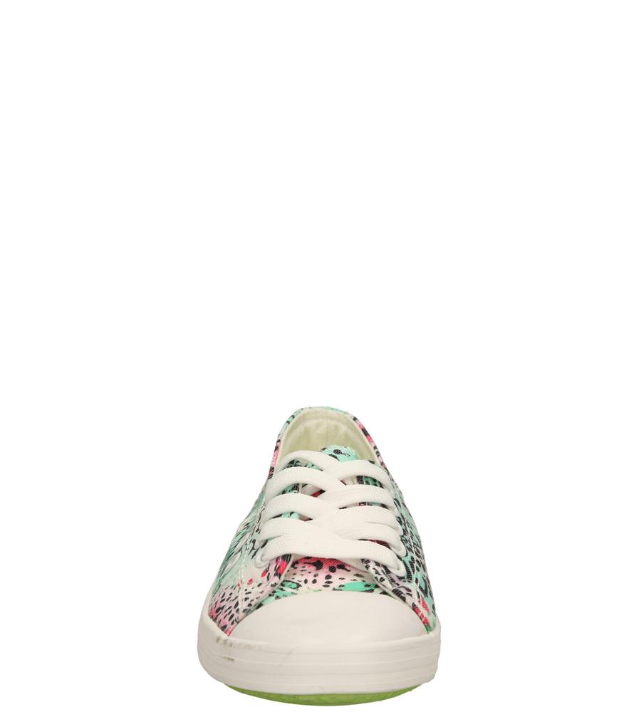 Damskie TRAMPKI CASU W-02 zielony;różowy;