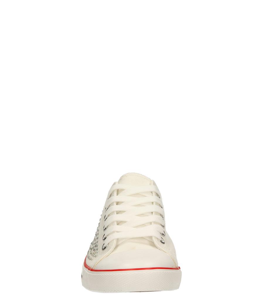 Damskie TRAMPKI CASU 2914-2 biały;;