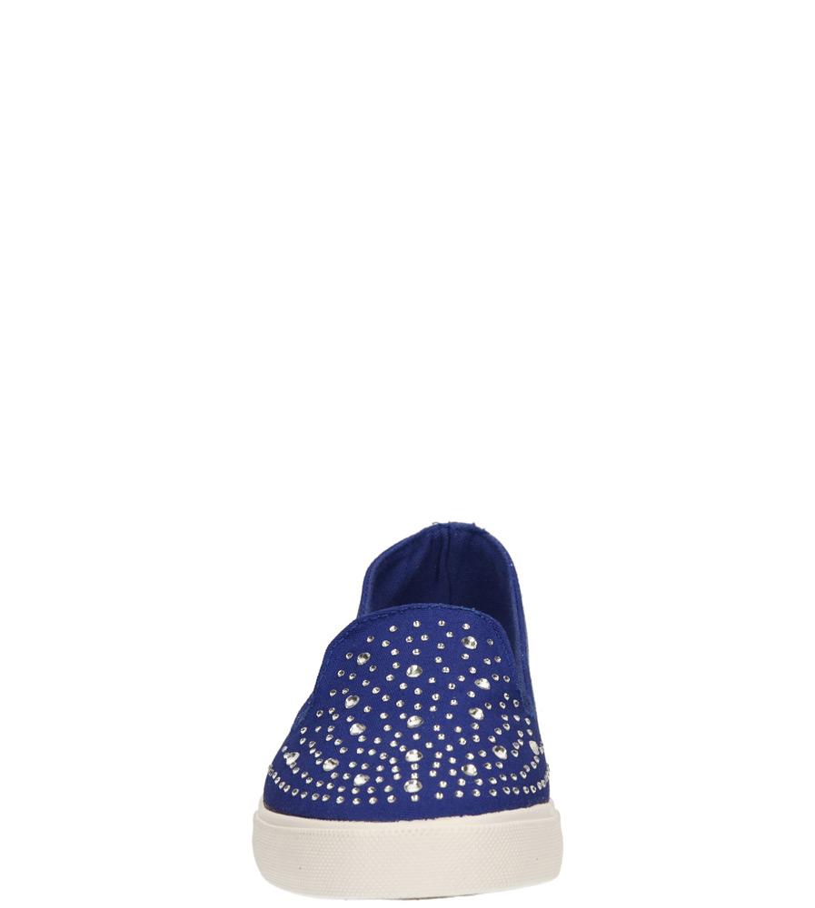 Damskie CREEPERSY CASU 9929 niebieski;;
