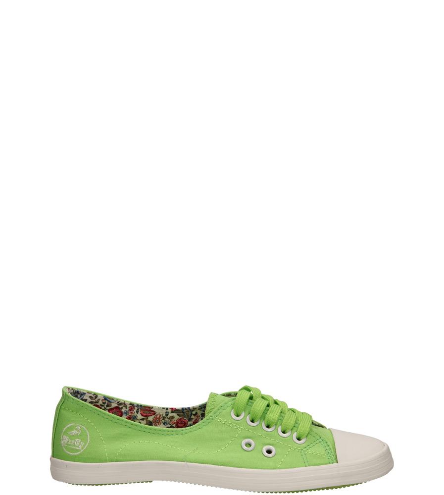 Damskie TRAMPKI CASU 9897 zielony;;