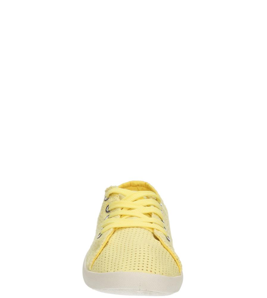 Damskie TRAMPKI CASU B669-26 żółty;;