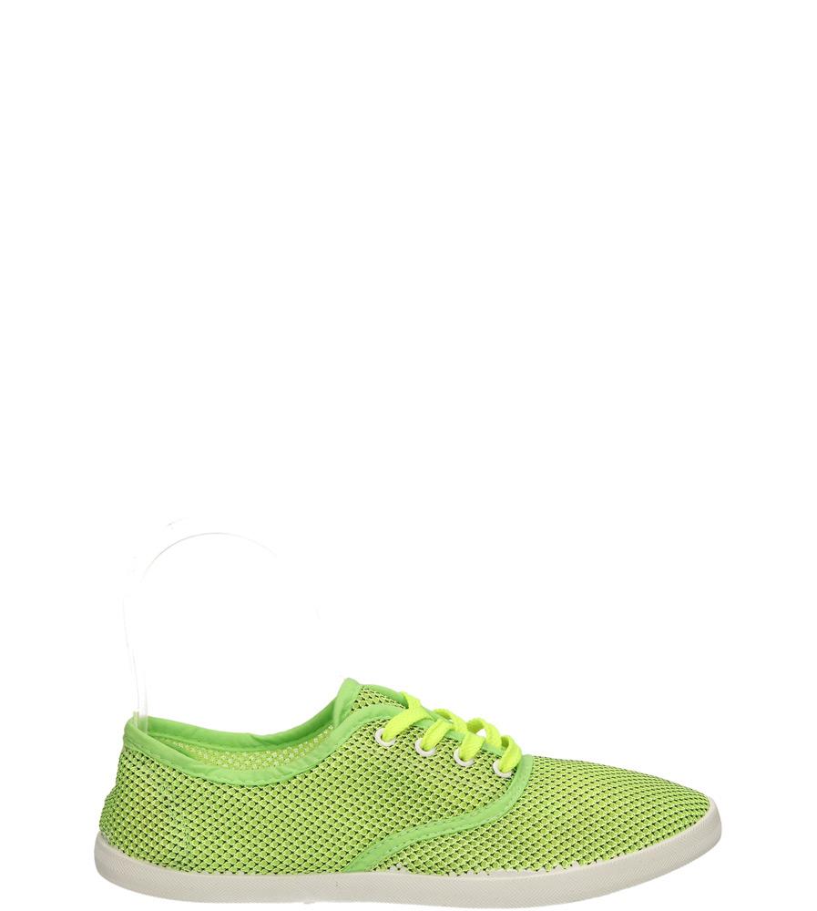 Damskie TENISÓWKI CASU V012 zielony;;