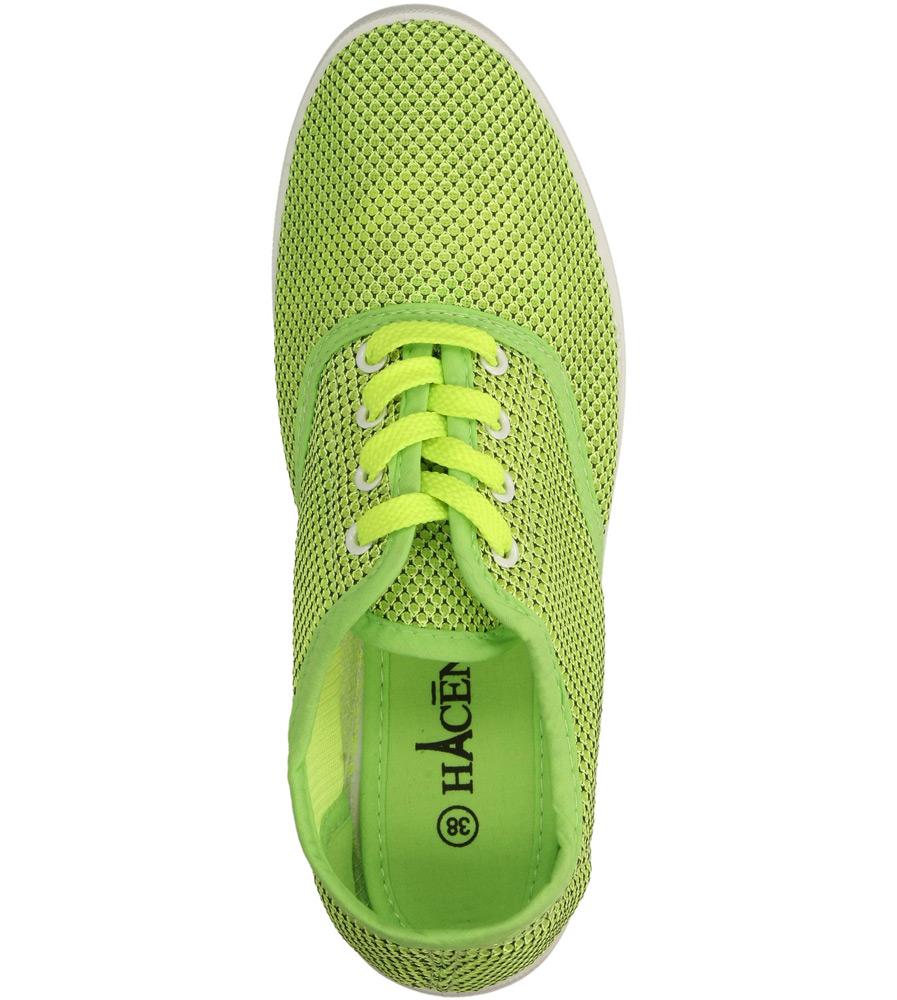 TENISÓWKI CASU V012 kolor jasny zielony