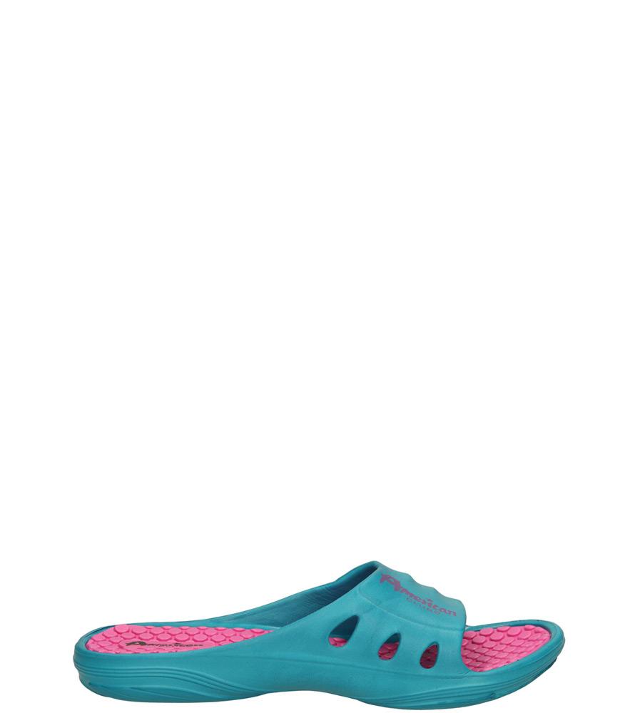 Dziecięce KLAPKI AMERICAN LC-A030008-1 niebieski;różowy;