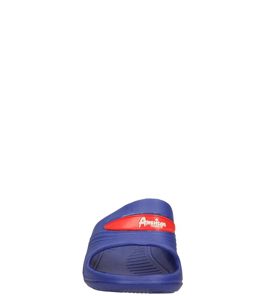 Dziecięce KLAPKI AMERICAN JHX10426-1 niebieski;czerwony;