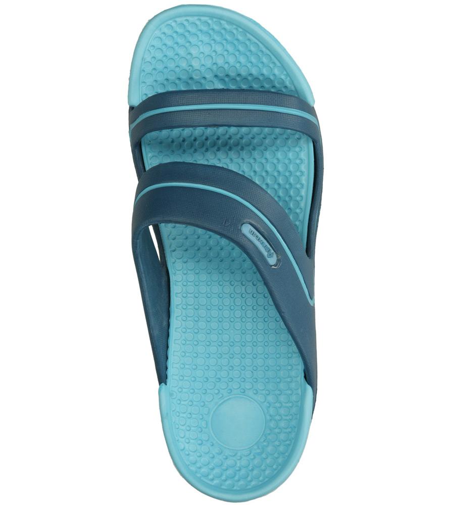 Damskie KLAPKI AMERICAN DX120626-3 niebieski;;