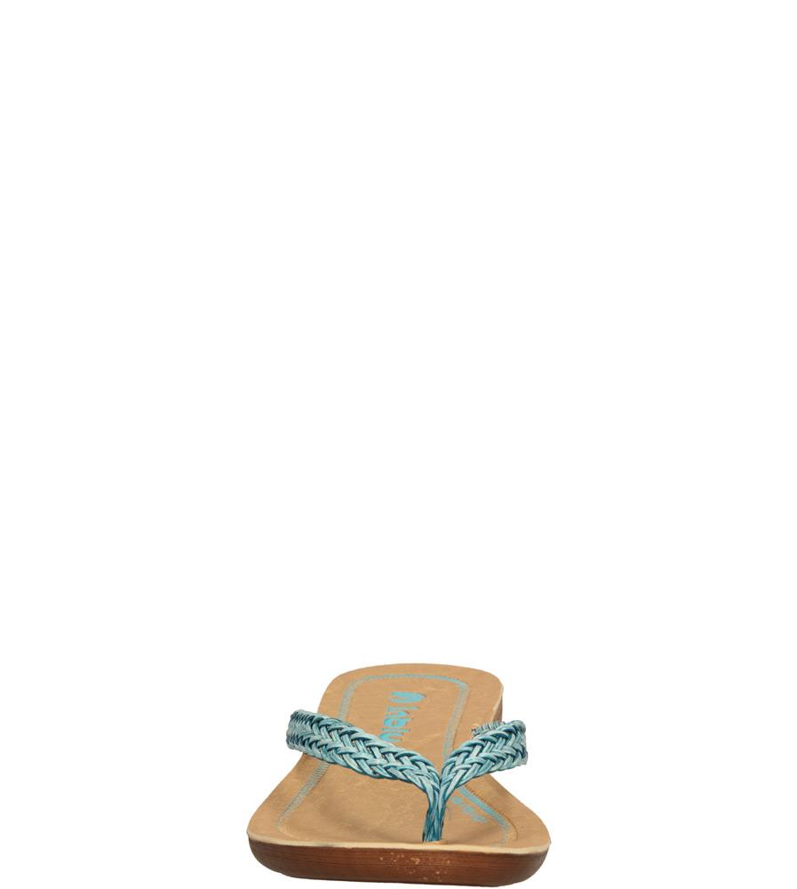 Damskie JAPONKI INBLU IB000011 niebieski;;