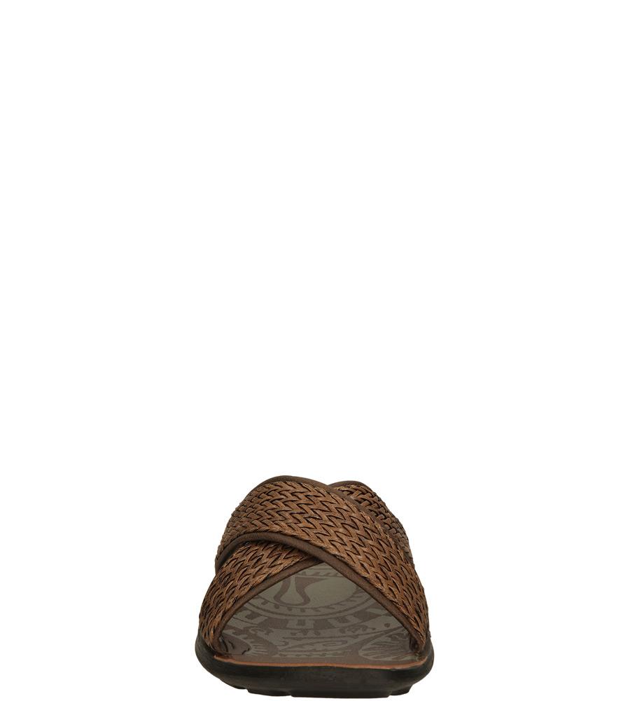 Męskie KLAPKI INBLU LP000012 brązowy;;