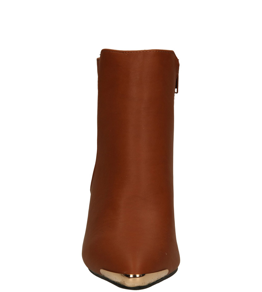 Damskie BOTKI CASU 2327-963 brązowy;;
