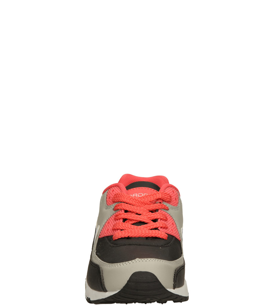 Dziecięce SPORTOWE 5XC6817 czarny;szary;czerwony
