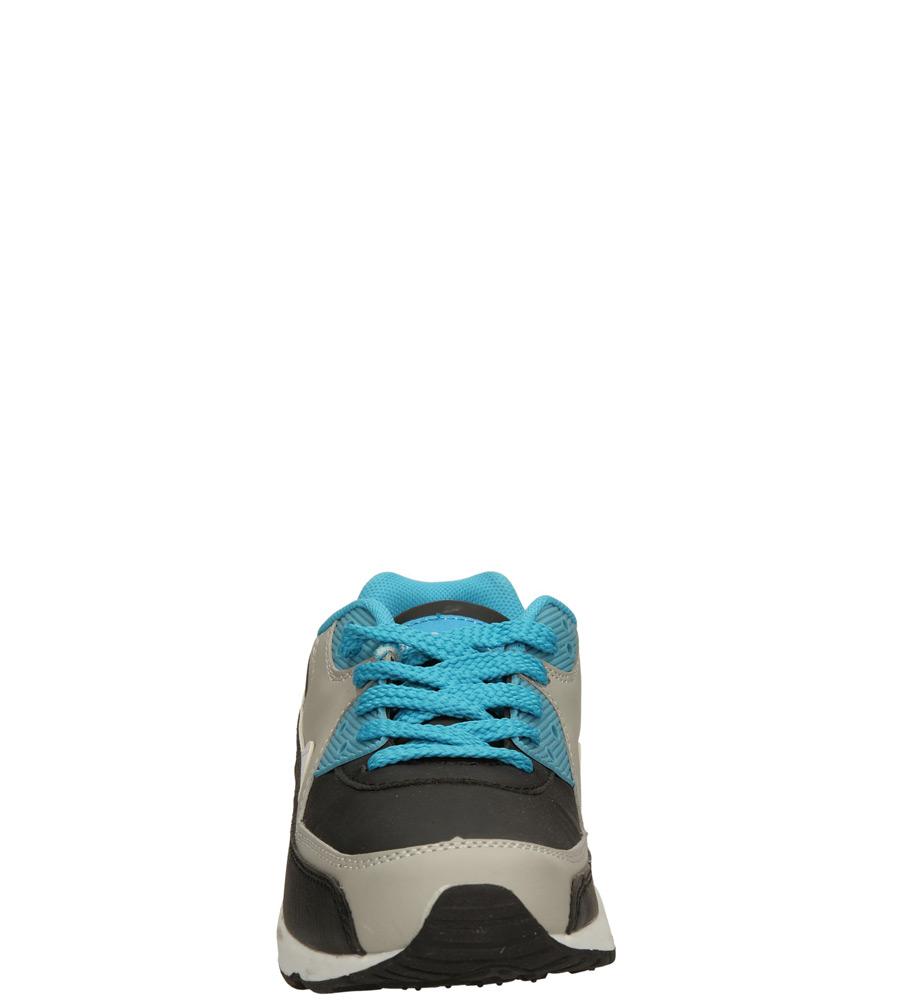 Dziecięce SPORTOWE 5XC6817 czarny;szary;niebieski