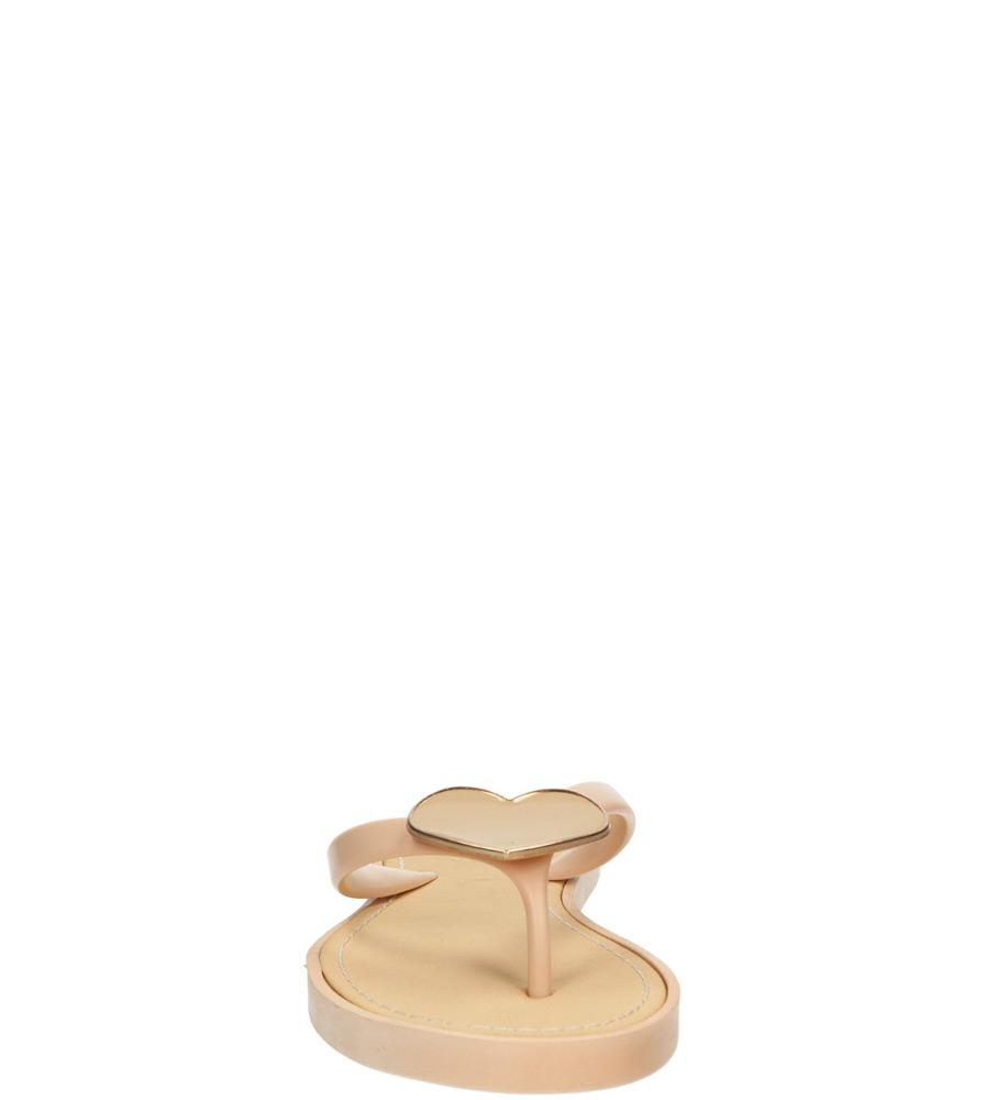 Damskie JAPONKI CASU 6851 różowy;;