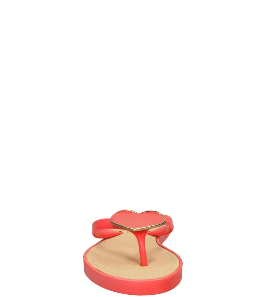 Damskie JAPONKI CASU 6851 czerwony;;