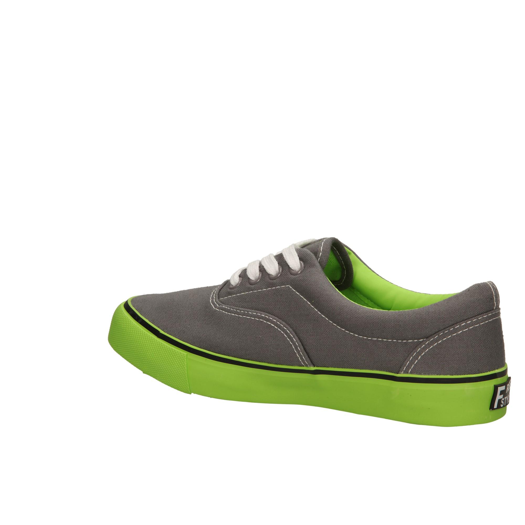 Damskie TRAMPKI CASU 412 szary;zielony;