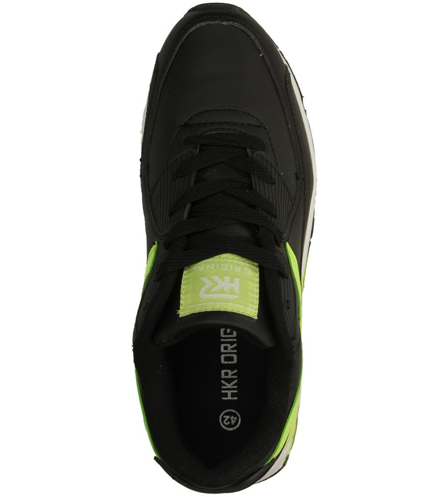 Męskie SPORTOWE CASU 9A-HG85006 czarny;zielony;