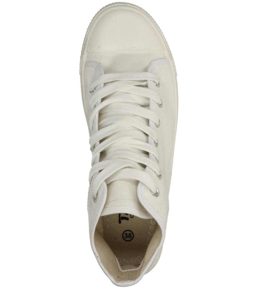 Damskie TRAMPKI CASU B082 biały;;