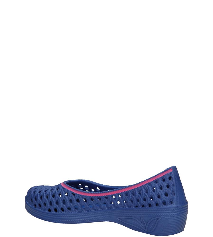Damskie MELISKI CASU JX-052 niebieski;;