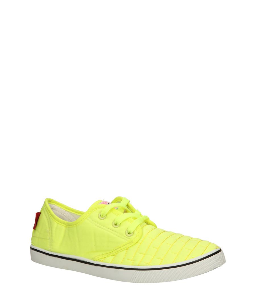 Damskie TRAMPKI CASU 9891 żółty;;