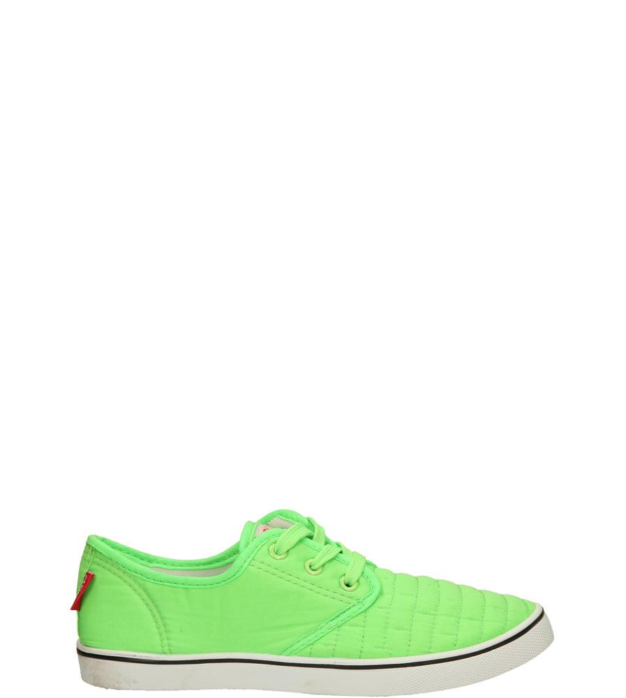 Damskie TRAMPKI CASU 9891 zielony;;