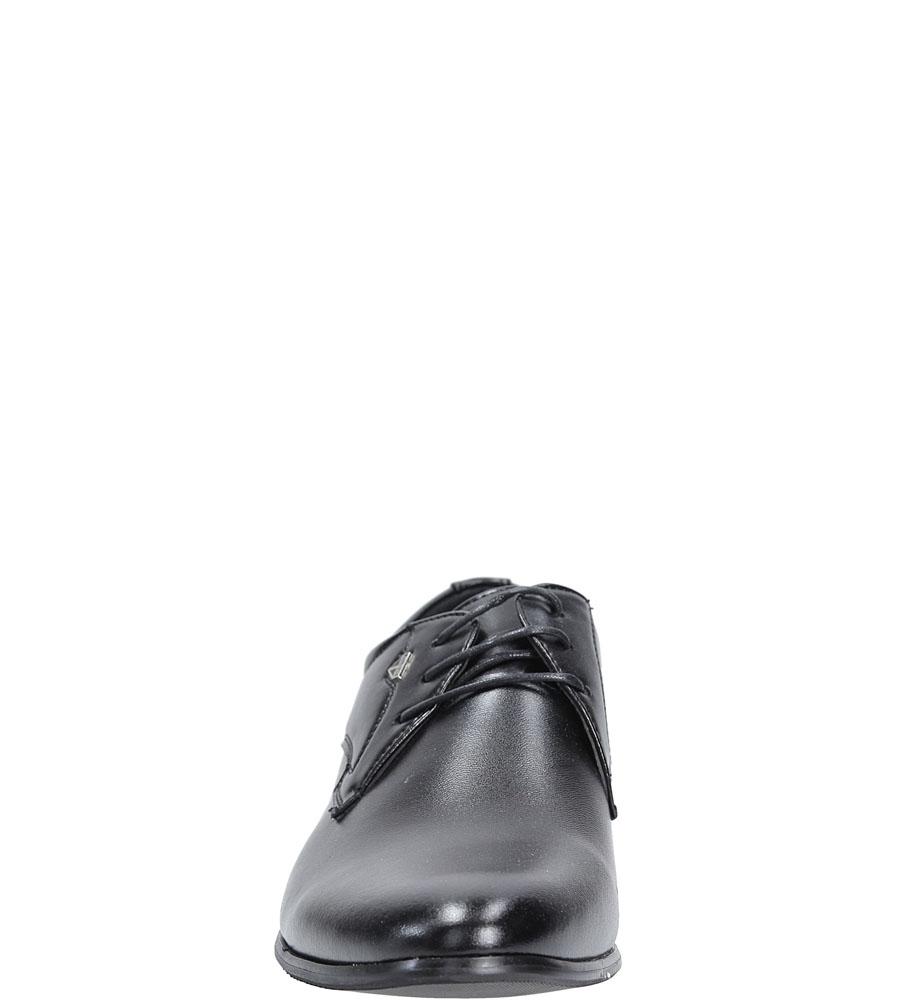 Wizytowe Casu MXC235 kolor czarny
