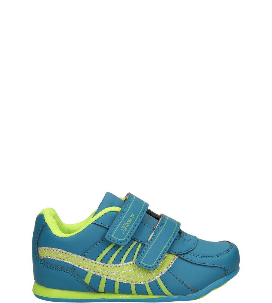 Dziecięce SPORTOWE 1XC6807 niebieski;zielony;