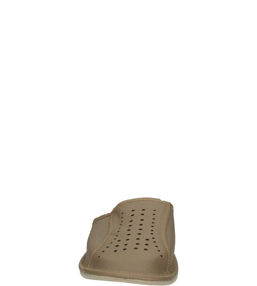 Męskie KAPCIE CASU S-26 beżowy;;