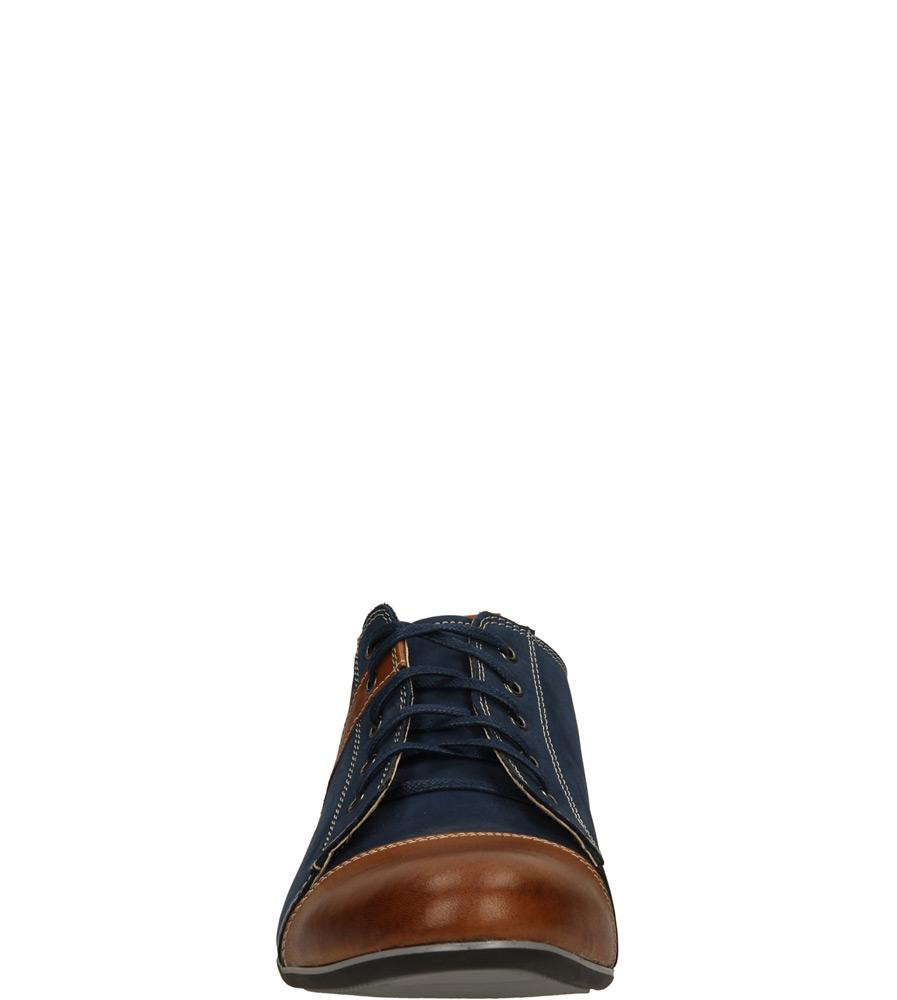 Męskie PÓŁBUTY WINDSSOR 495 niebieski;brązowy;