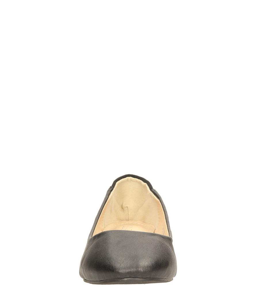 Damskie BALERINY CASU CH-531306 czarny;;