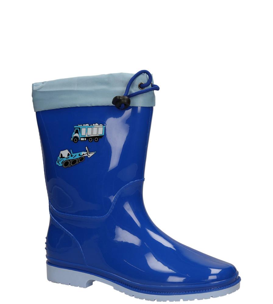 Dziecięce KALOSZE FMTT-01 niebieski;niebieski;