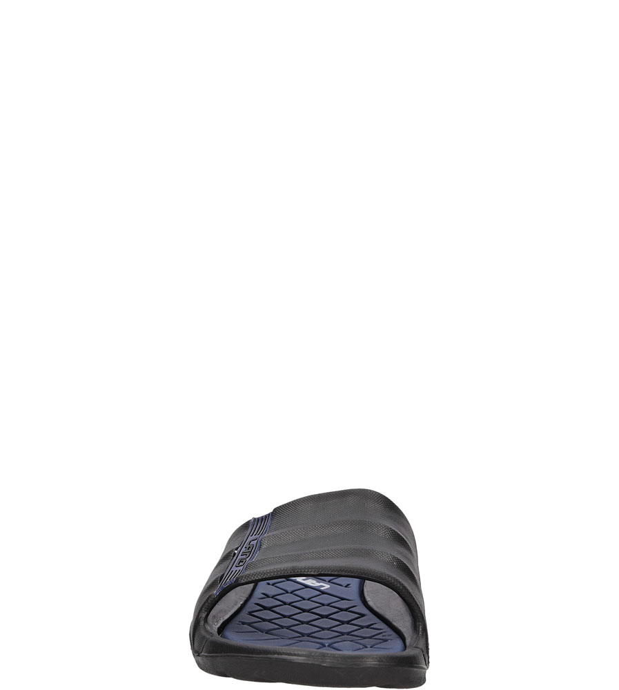 Męskie KLAPKI CASU KL162 czarny;niebieski;