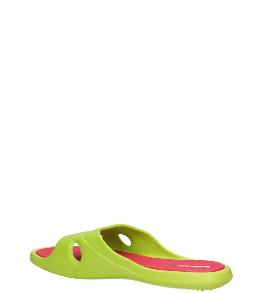 KLAPKI 3060-M kolor fuksja, jasny zielony