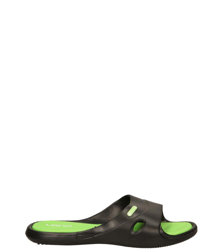 Dziecięce KLAPKI 3060-M czarny;zielony;