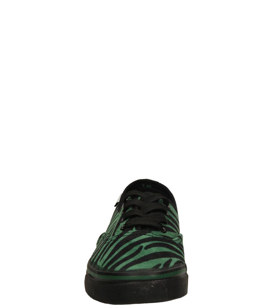 Damskie TRAMPKI CASU 55638 zielony;czarny;