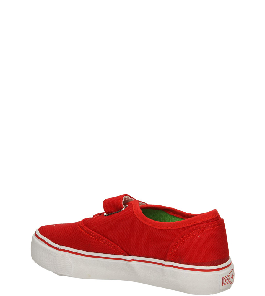 TRAMPKI 3XC6557-B kolor czerwony, zielony