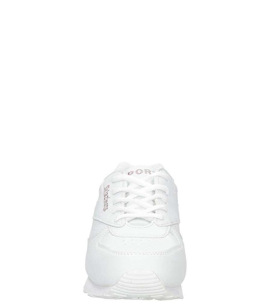 Damskie Sportowe sznurowane Casu B014 biały;;
