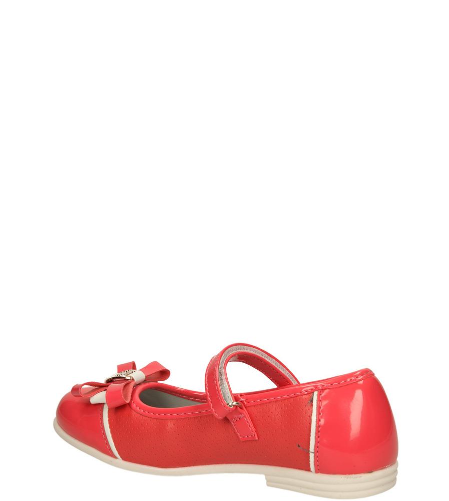 Dziecięce BALERINY 3BL217 czerwony;;