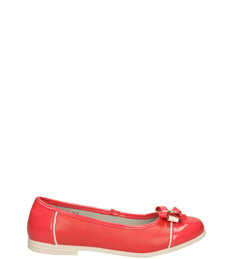Dziecięce BALERINY 5BL217 czerwony;;