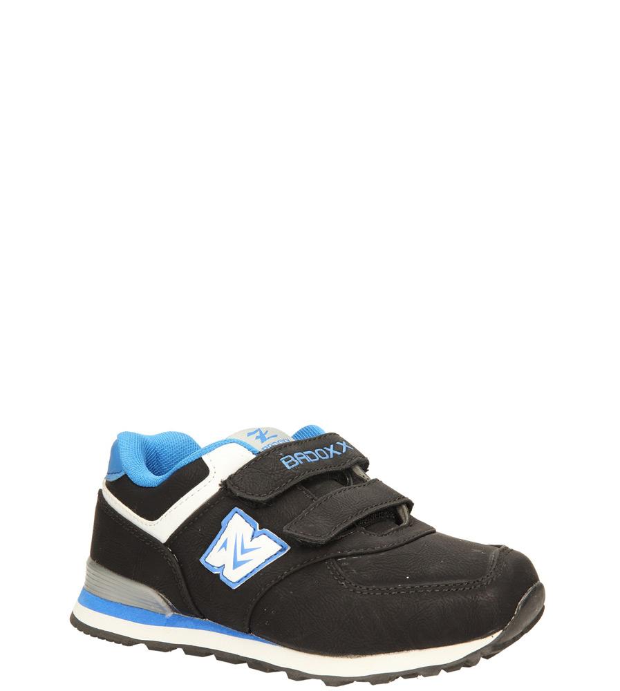 Dziecięce SPORTOWE 3XC6427 czarny;niebieski;