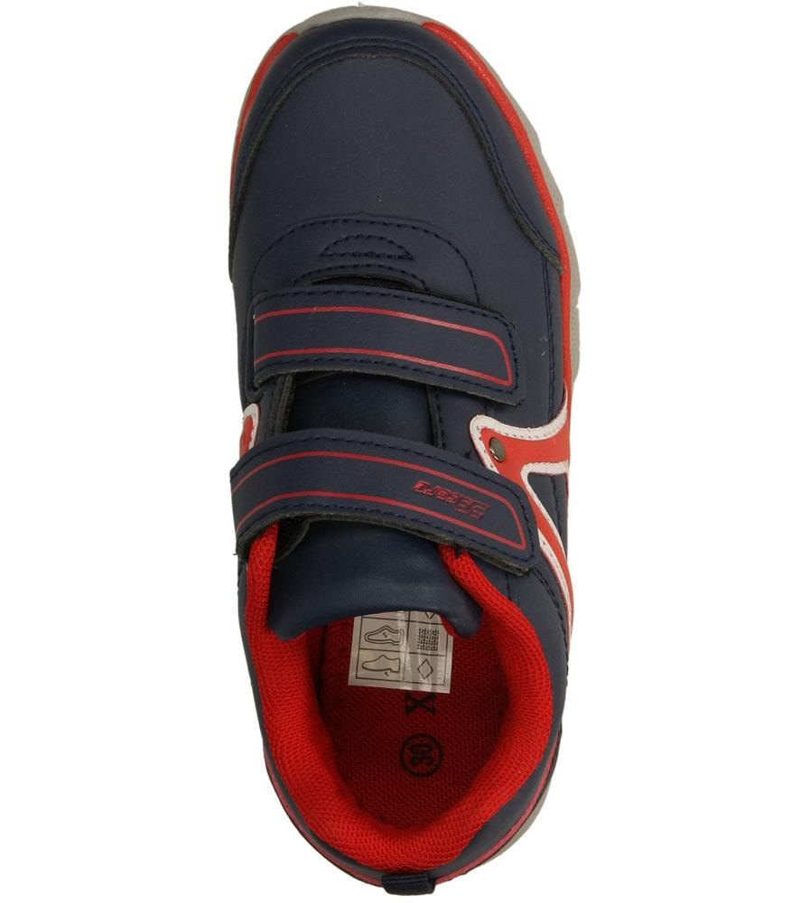 Dziecięce SPORTOWE 3XC6808 niebieski;czerwony;
