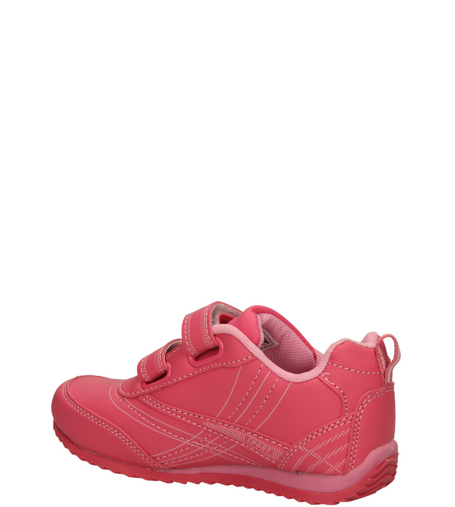 Dziecięce SPORTOWE 3XC6649 różowy;różowy;