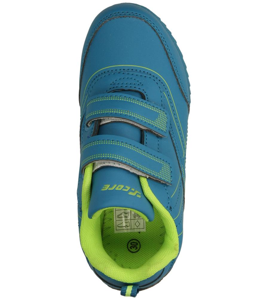Dziecięce SPORTOWE 3XC6649 niebieski;zielony;