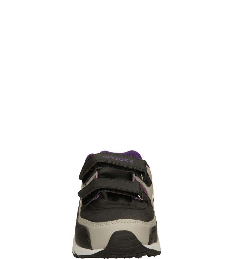 Dziecięce SPORTOWE 5XC6833 czarny;szary;fioletowy