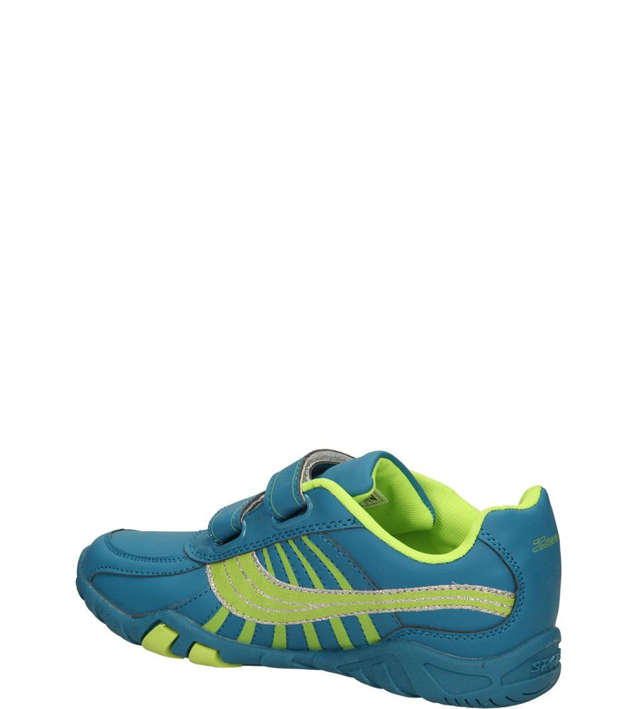 Dziecięce SPORTOWE 5XC6807 niebieski;zielony;