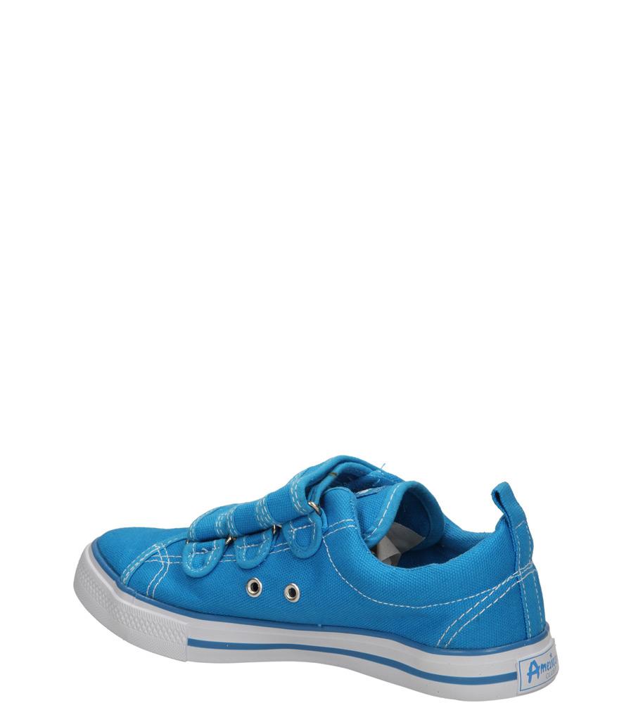 Dziecięce TRAMPKI AMERICAN LH-15-DSTC02-2 niebieski;;